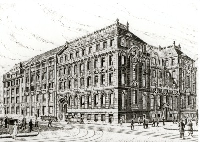 Head office in Berlin, circa 1923