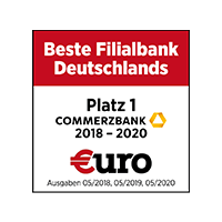 Beste Filialbank Deutschlands 2020 - Quelle: €uro Magazin 05/2020